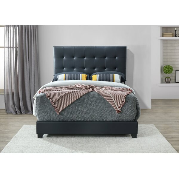 Seese Upholstered Standard Bed Charlton Home W001445036