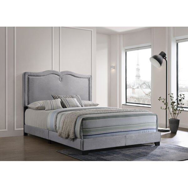 Littlefield Queen Upholstered Standard Bed by House of Hampton