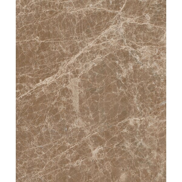 Emperador Light 3 x 6 Marble Field Tile in Beige by Seven Seas