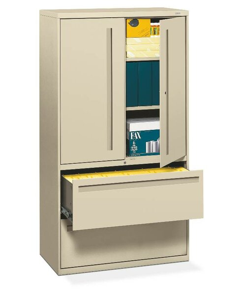 Brigade 700 Series 2-Drawer Vertical Filing Cabinet by HON