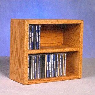 52 CD Multimedia Tabletop Storage Rack