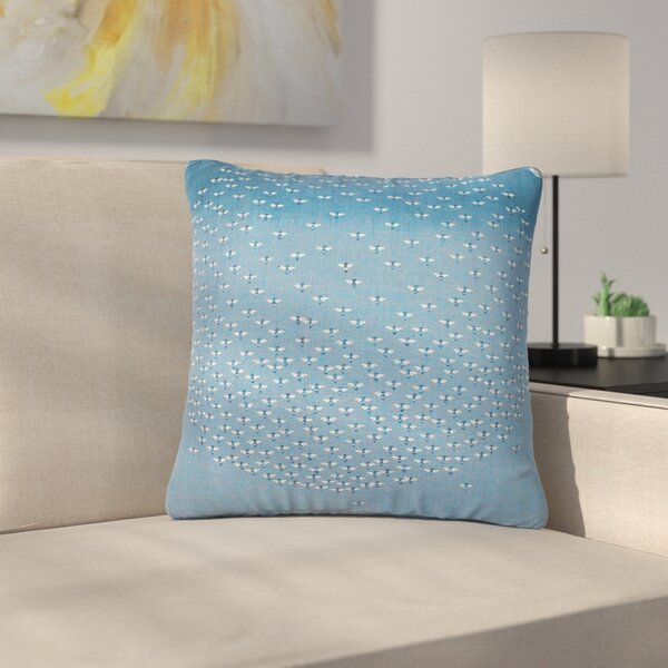 Laura Nicholson Being Here Outdoor Throw Pillow by East Urban Home