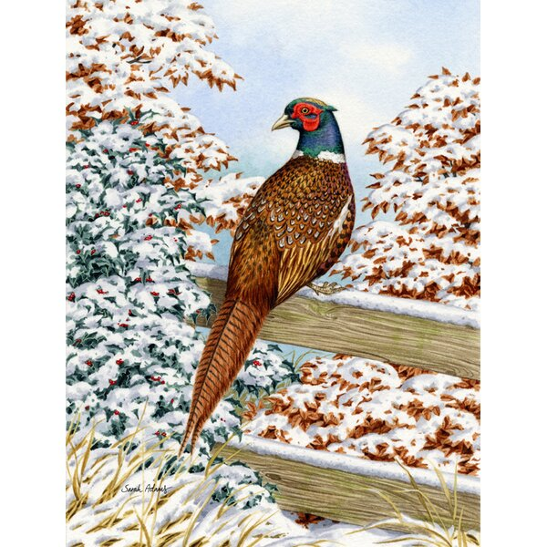 Pheasant Vertical Flag by Caroline's Treasures