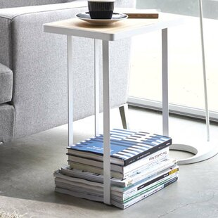 Reviews Espinal Magazine Rack and Table By Rebrilliant