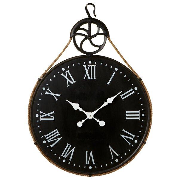 Oversized Guerin 32 Wall Clock by Gracie Oaks