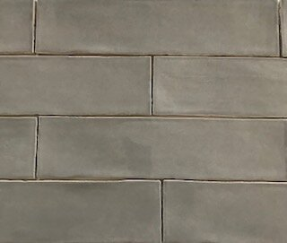 Bricks 3 x 12 Porcelain Subway Tile in Grigio by La Maison en Pierre