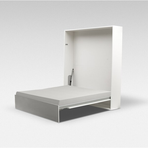Daijon European Murphy Bed with Mattress by Latitude Run