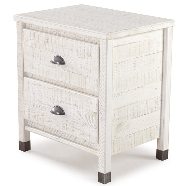 Bedias 2 Drawer Nightstand by Greyleigh