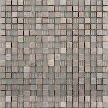 Lucente Glass Mosaic Tile in Certosa by Emser Tile