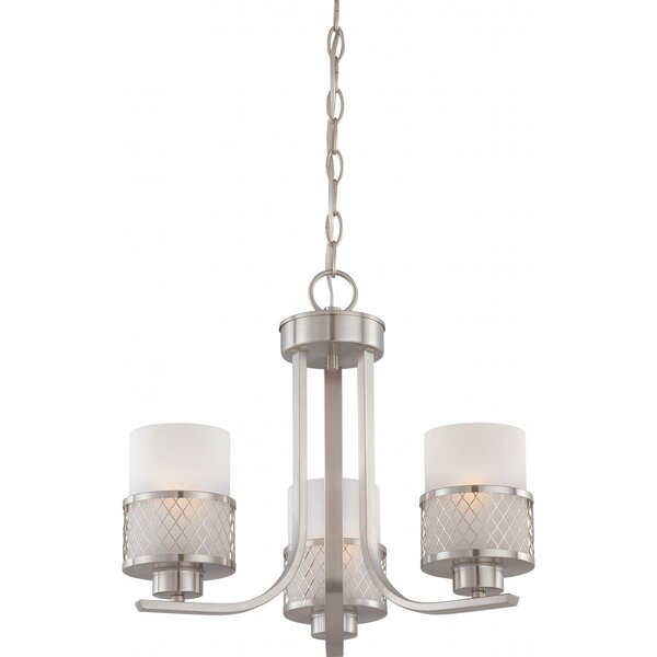 Lofton 3 - Light Shaded Classic / Traditional Chandelier By Darby Home Co