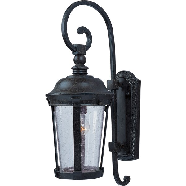 Arsenault Traditional 1-Light Outdoor Wall Lantern by Darby Home Co