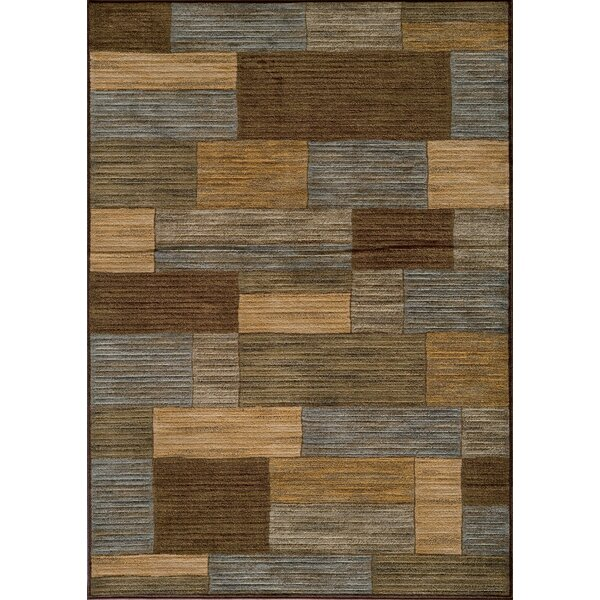 Sherill Brown/Beige Area Rug by Winston Porter