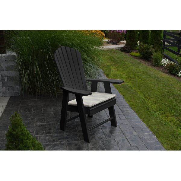 Stalham Upright Plastic Adirondack Chair by Highland Dunes Highland Dunes