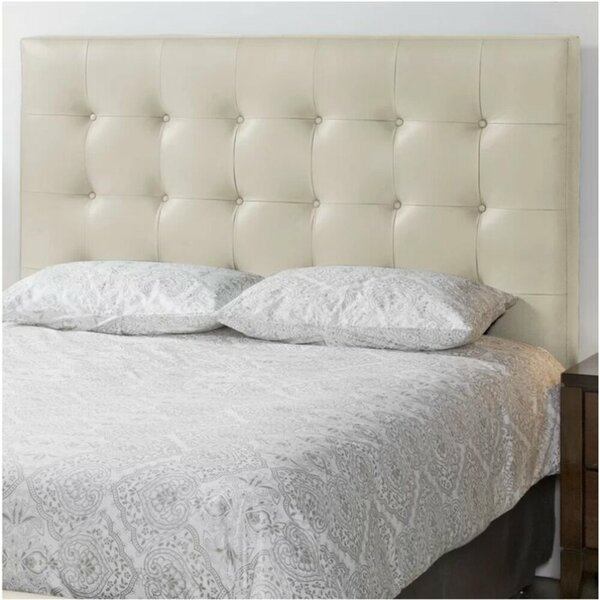 Yother Upholstered Panel Headboard by Alcott Hill