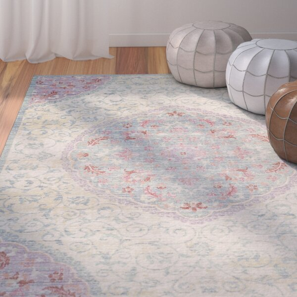 Chauncey Weave Light Gray Area Rug by Bungalow Rose