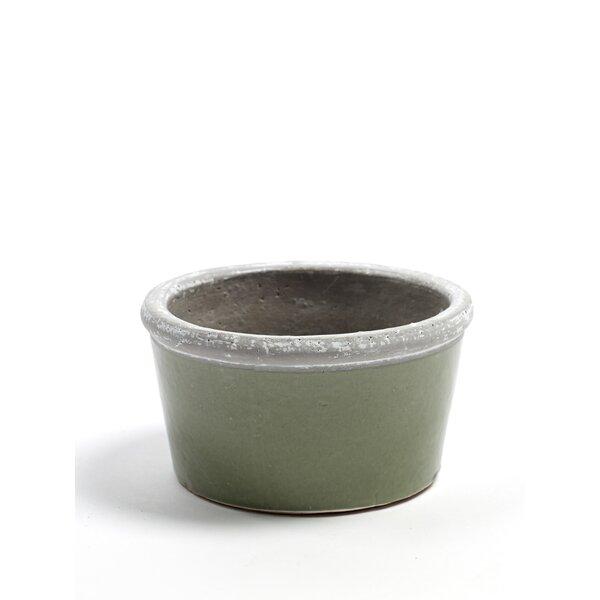 Enders Low Concrete Pot Planter by Bloomsbury Market