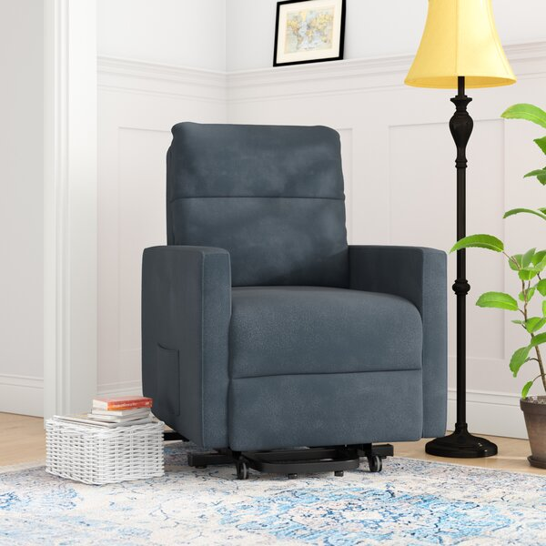 Albert Power Lift Assist Recliner by Andover Mills