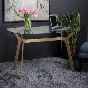 Bon Archtech Modern Glass Desk