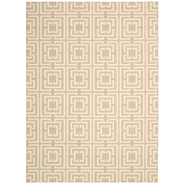 Astra Rug in Tan by Ebern Designs