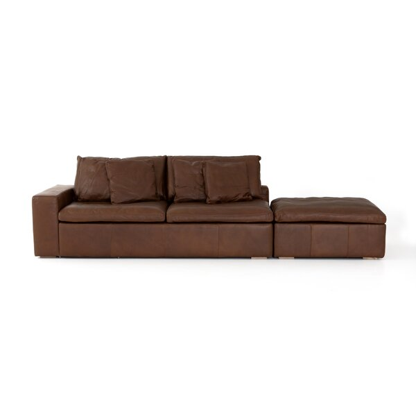 Steinway Sofa with Ottoman by Williston Forge