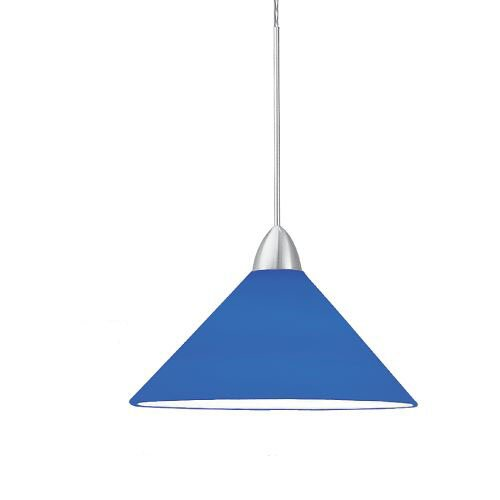 Contemporary Jill 1-Light Cone Pendant by WAC Lighting