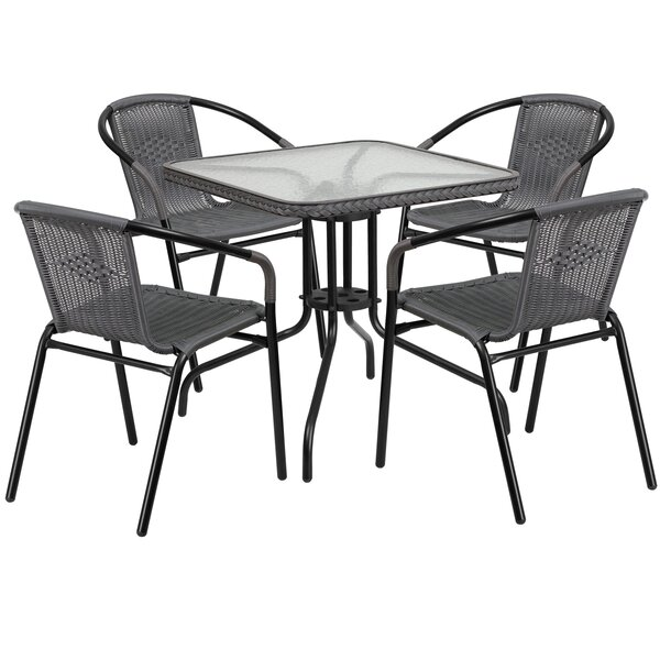 Haro Square 5 Piece Dining Set By Ebern Designs