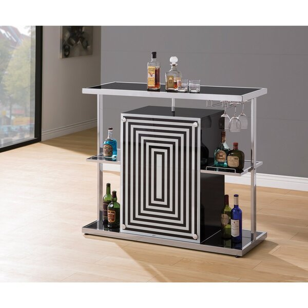 Decosta Bar with Wine Storage by Wrought Studio