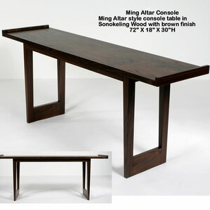 Ming Altar Console Table by Indo Puri