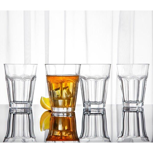 10 oz. Crystal Highball Glass (Set of 4) by Studio Silversmiths