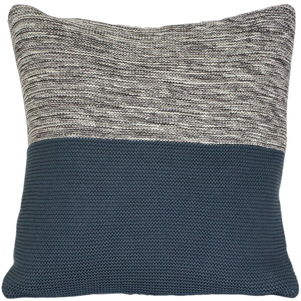 Ariel Knit Throw Pillow by Wrought Studio