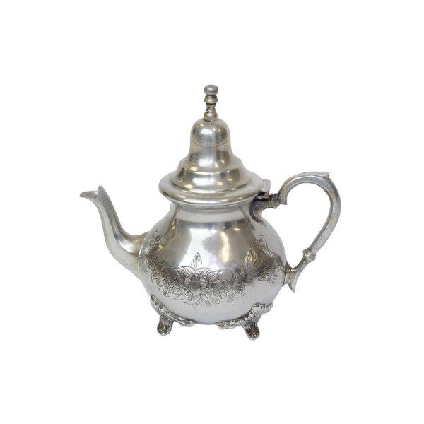 Vintage Teapots Silver Plated Brass Teapot by Casablanca Market