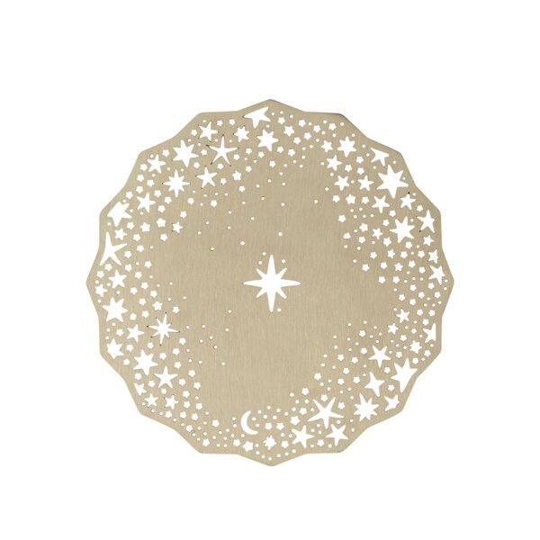Twinkling Star Coaster by The Holiday Aisle