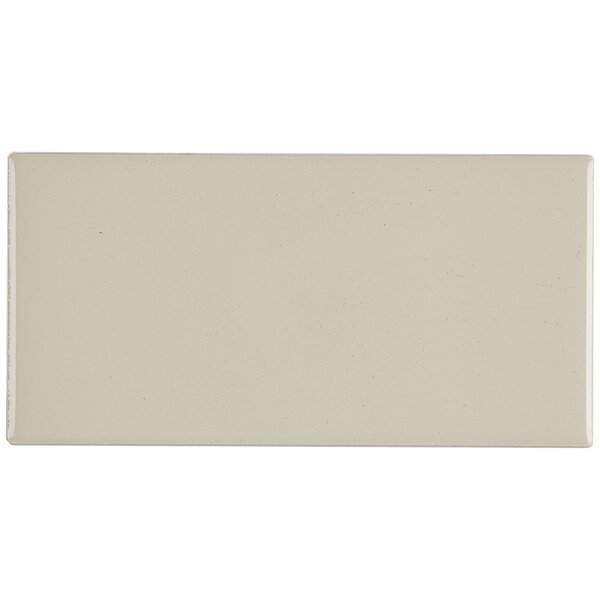 Guilford 3 x 6 Ceramic Subway Tile in Urban Putty by Itona Tile
