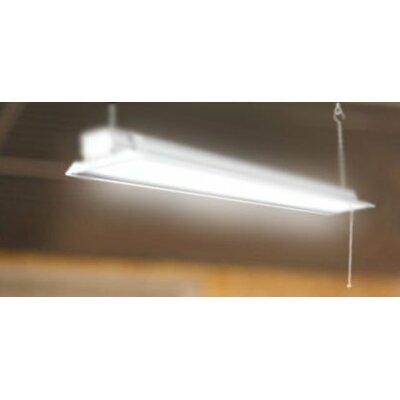 Howard lighting 6 light high bay fluorescent light fixture with 32w flat shop daylight fixture ceiling light high bay set of 2 aloadofball Images