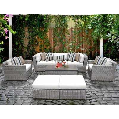 Sol 72 Outdoor Rattan Multiple Chairs Seating Group Cushions Cushion Color Seating Groups