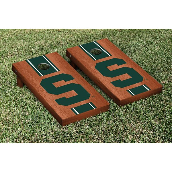 NCAA Rosewood Stained Cornhole Game Set by Victory