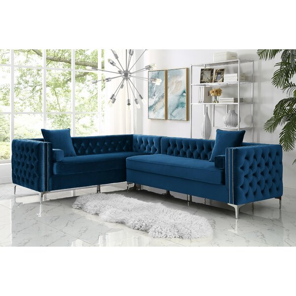 The World's Best Selection Of Kaufman Reversible Stationary Sectional by Everly Quinn by Everly Quinn