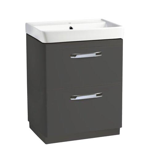 Lothrop 59cm Free-Standing Vanity Unit Base Belfry Bathroom