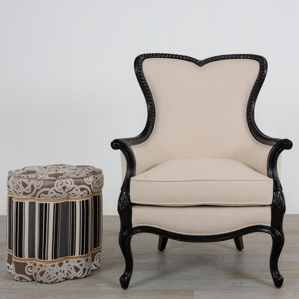 Carlene Wingback Chair by Canora Grey Canora Grey