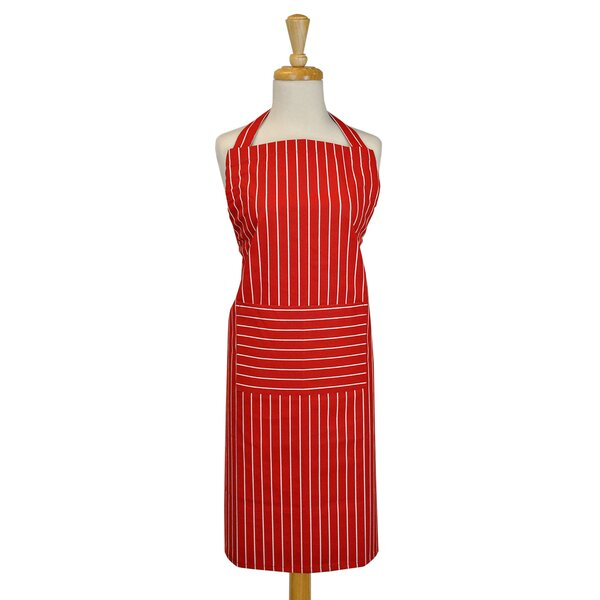 Striped Apron by Ebern Designs