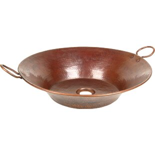 Buying Copper Bathroom Sinks Metal Circular Vessel Bathroom Sink By D'Vontz