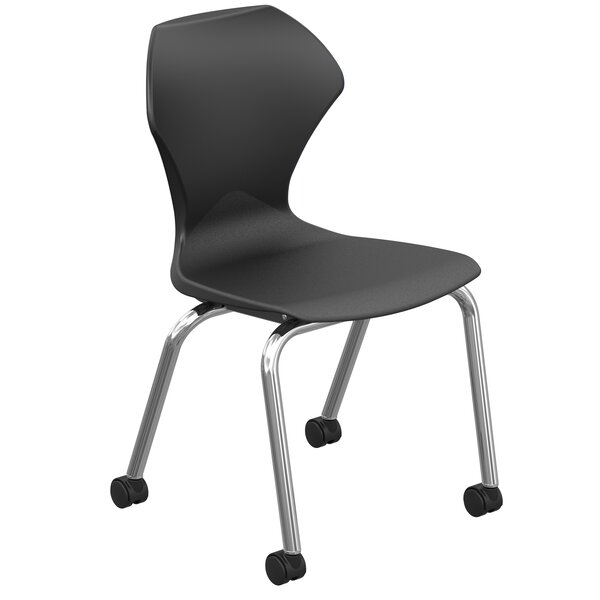 Apex Series 17.75 Plastic Classroom Chair (Set of 2) by Marco Group Inc.