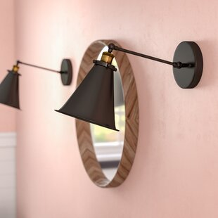 Best Deals Divito 1-Light Armed Sconce By Mercury Row