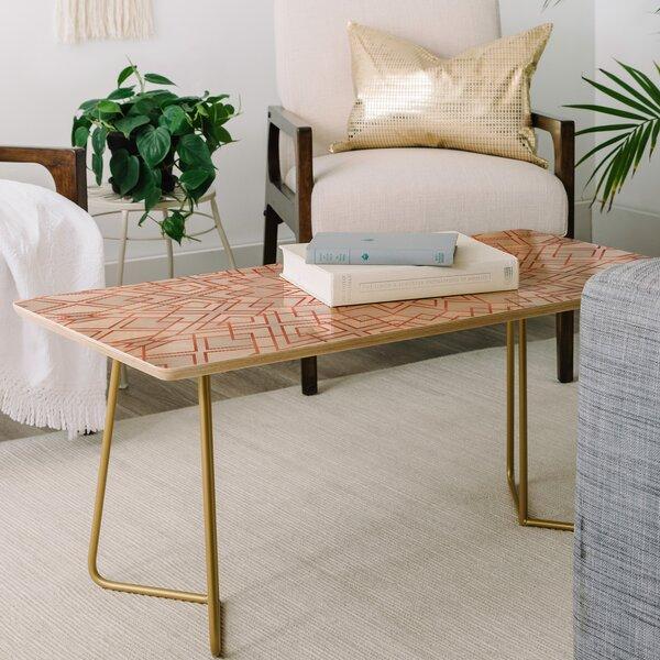 Geometric Coffee Table By East Urban Home