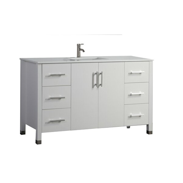 Predmore Modern 60 Single Bathroom Vanity Set by Orren Ellis