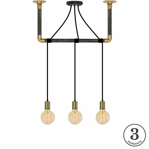 Cordelia 3-Light Kitchen Island Pendant by 17 Stories