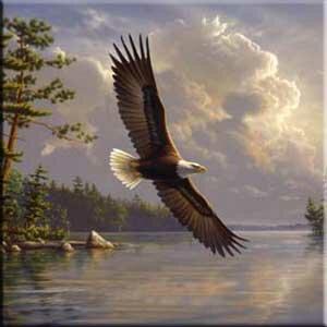 Tuftop Eagle Trivet by McGowan