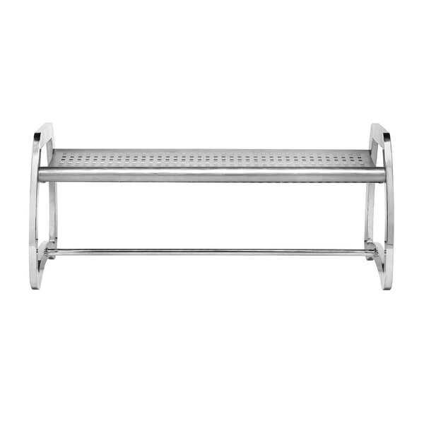 Skyline Leafview Stainless Steel Picnic Bench by Commercial Zone