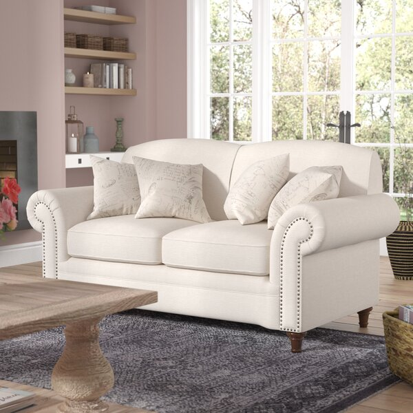 Popular Axelle Loveseat by Lark Manor by Lark Manor