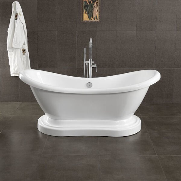68 X 29 Freestanding Bathtub by Cambridge Plumbing